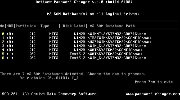active password changer iso تحميل